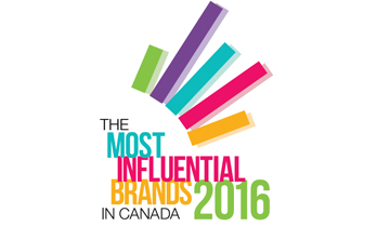 The Most Influential Brands in Canada 2016