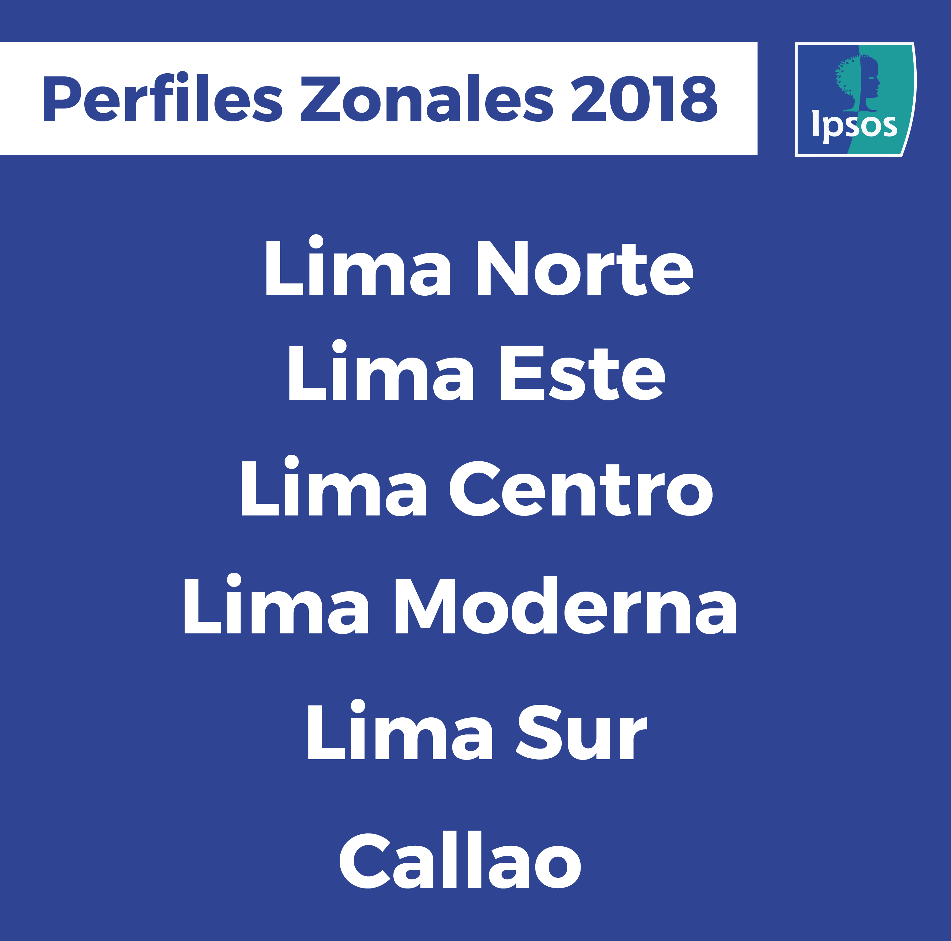 Perfiles Zonales: Lima a detalle