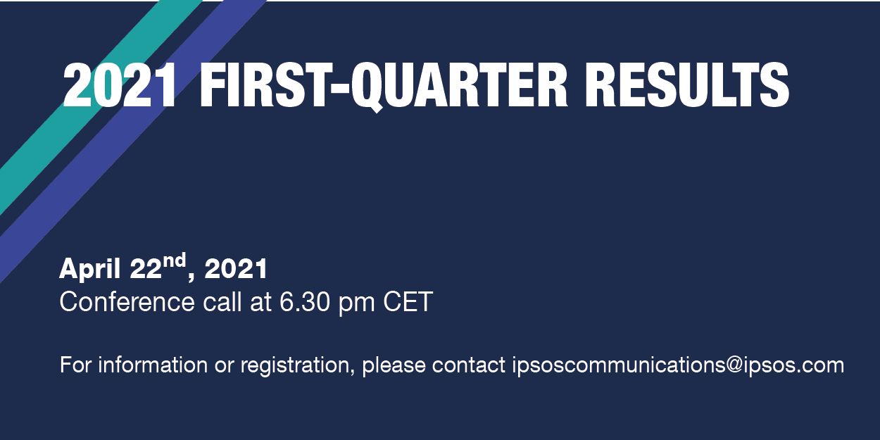 2021 First quarter results