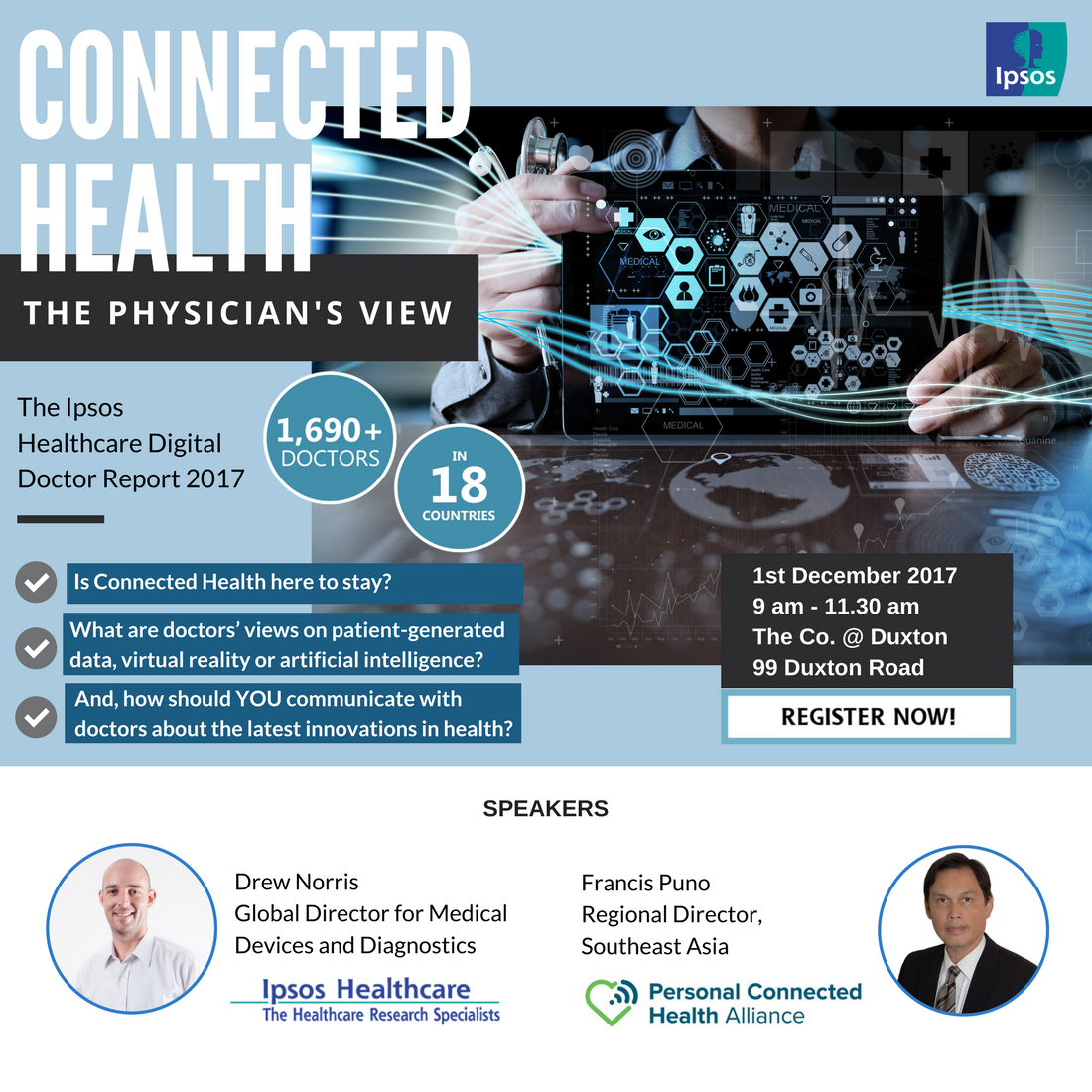 Connected health invitation