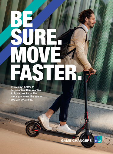 Be Sure Move Faster | Ipsos