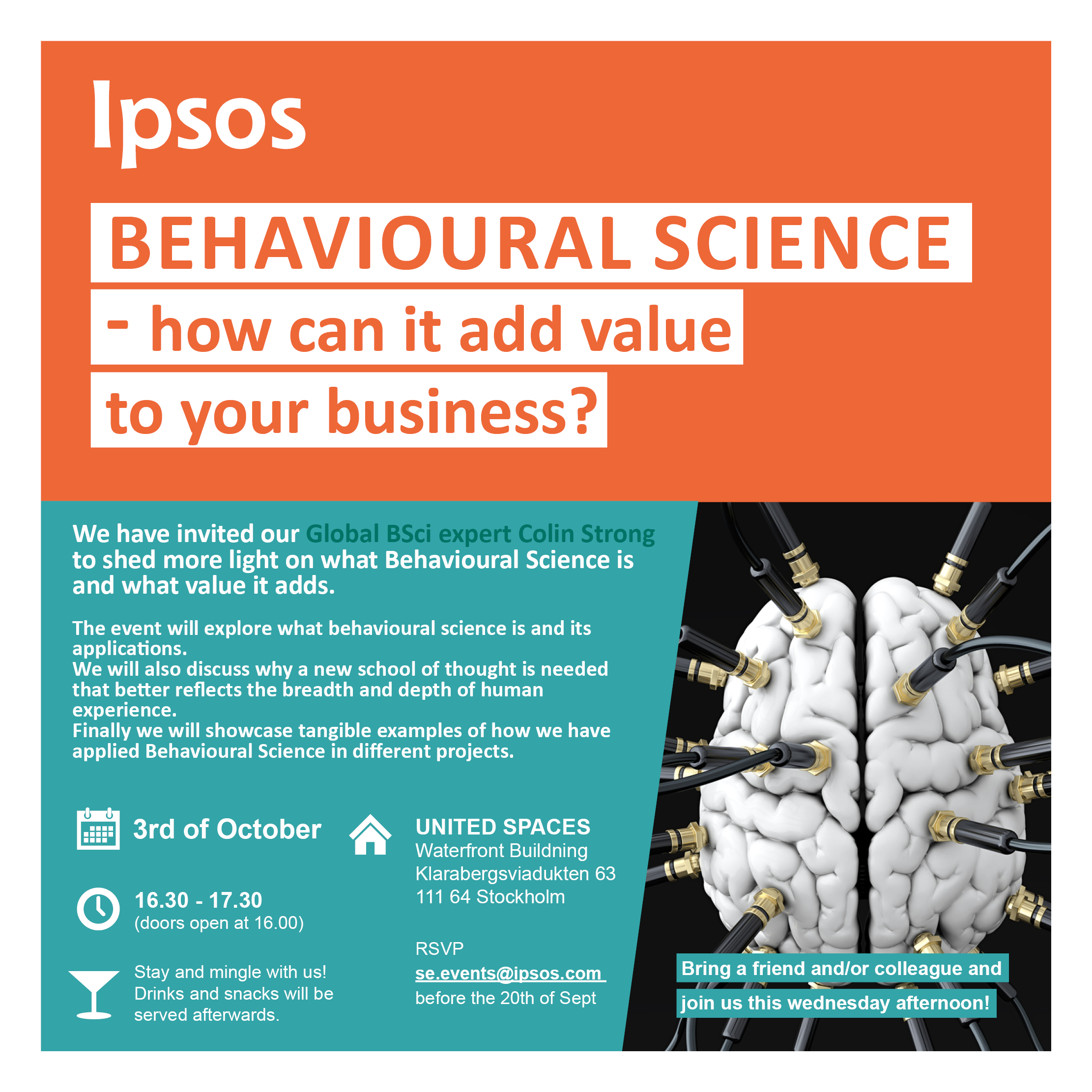 event behavioural science