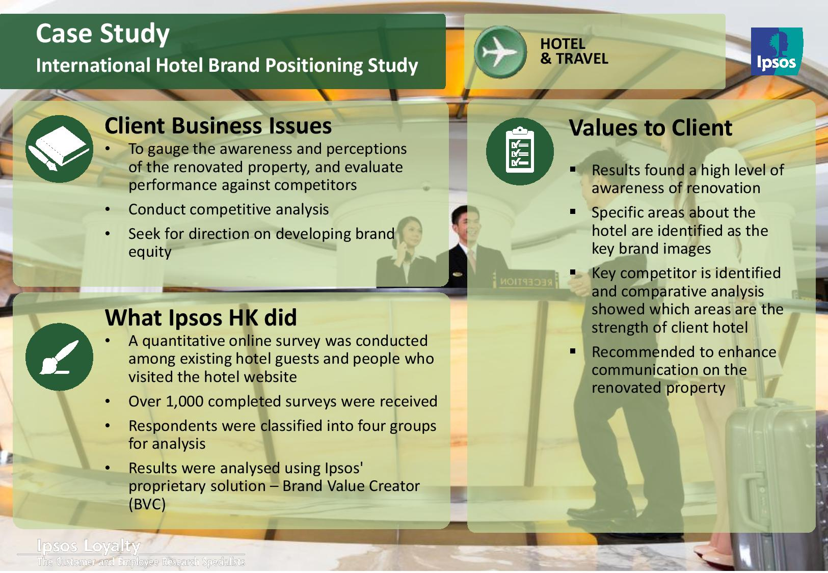 a86a119bf90 Case Study - International Hotel Brand Positioning Study | Ipsos