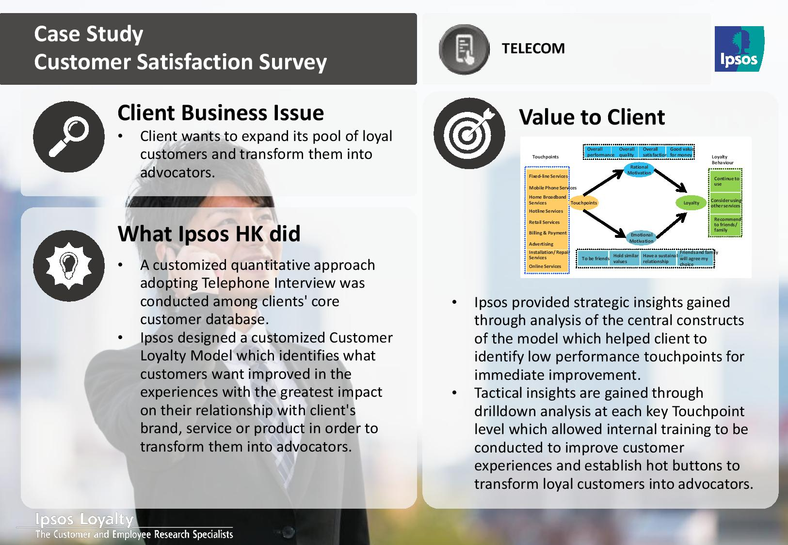 a study on customer satisfation level It takes continuous effort to maintain high customer satisfaction levels,  measuring and managing customer satisfaction.
