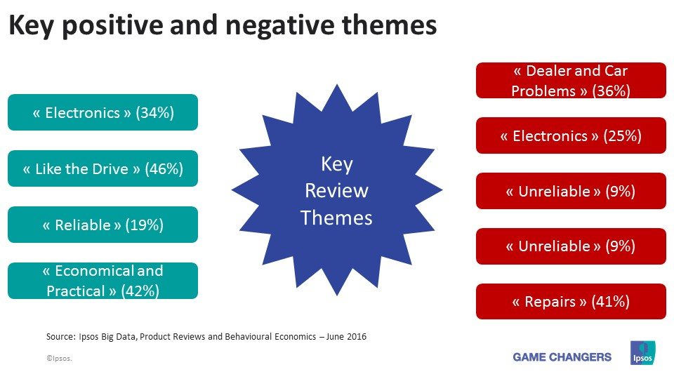 Key Positive and Negative Themes