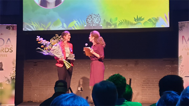 Pauline van der Wel wint Young Talent award