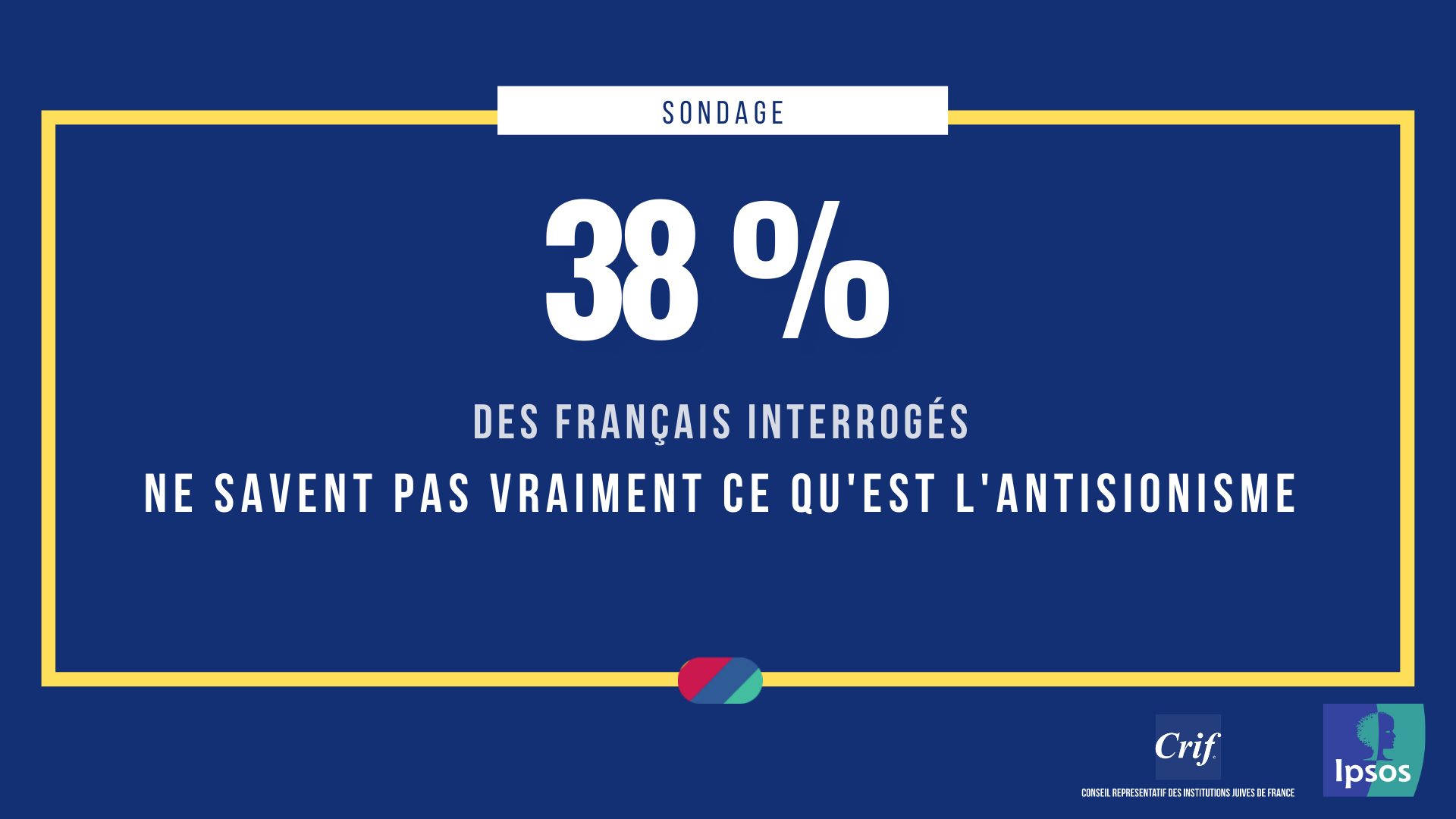 38% des français ne savent pas vraiment ce qu'est l'antisionisme