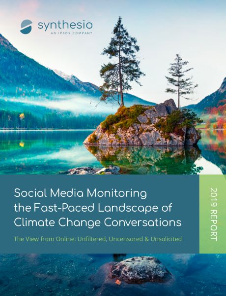 Landscape of climate change conversations on social media | social listening | Ipsos | Synthesio