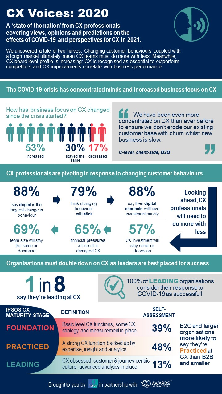 CX Voices 2020 Infographic_Page 1