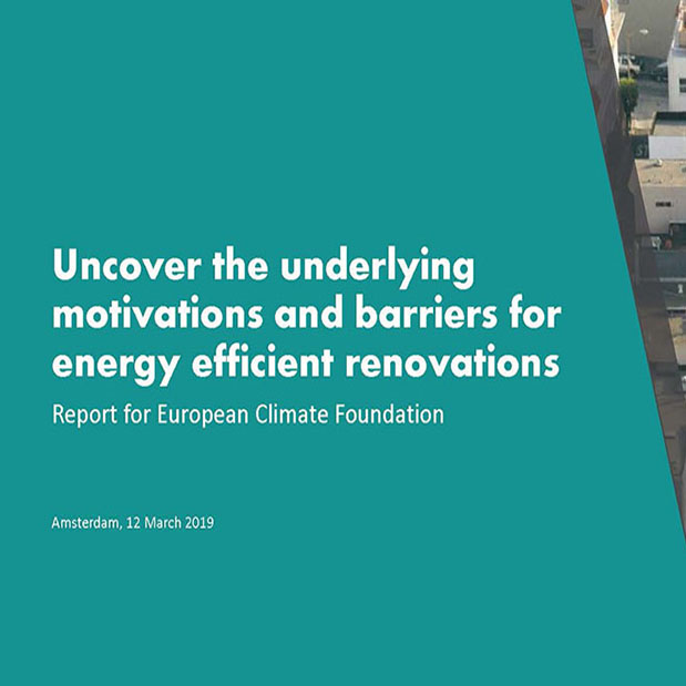 European Climate Foundation Report on Energy Effiicient Renovations | Housing | Ipsos MORI