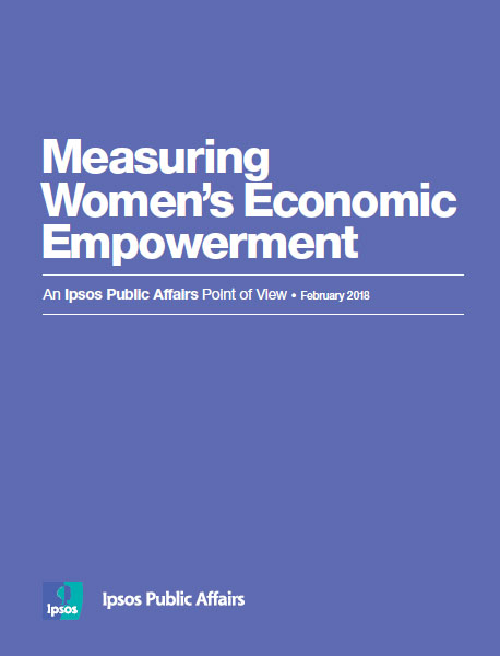 Measuring Women's Economic Empowerment
