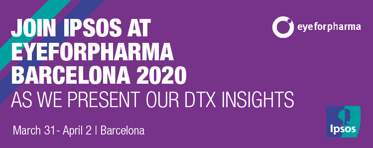 Ipsos participates in eyeforpharma Barcelona 2020 | Connected Health | Innovation for pharma & health