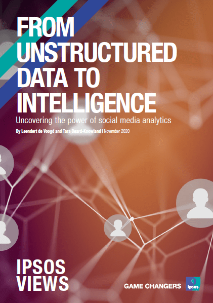 From unstructured data to Intelligence | Social intelligence | Ipsos