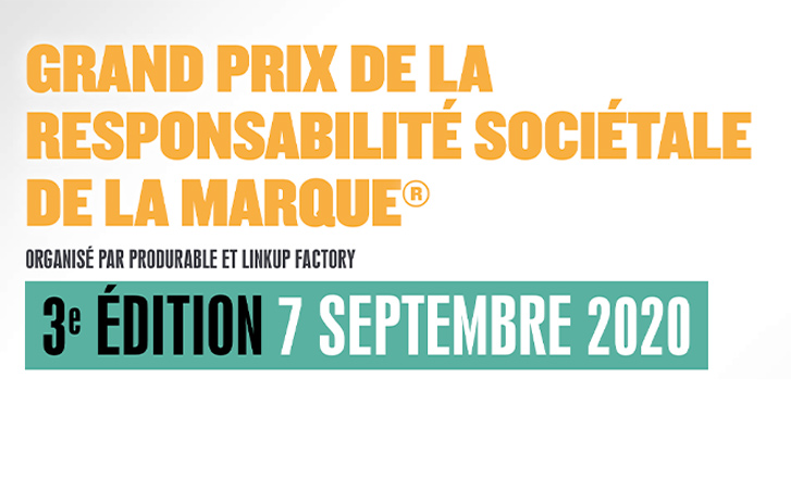 Grand Prix de la RSM® 2020 LinkUp Factory-Produrable