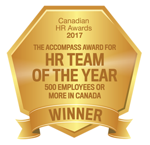 HR Team of the Year 2017 seal