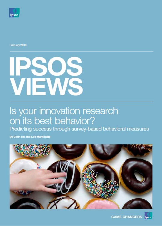 Ipsos Views: is your innovation on its best behaviour cover