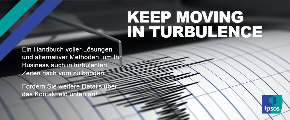 Keep moving in turbulence