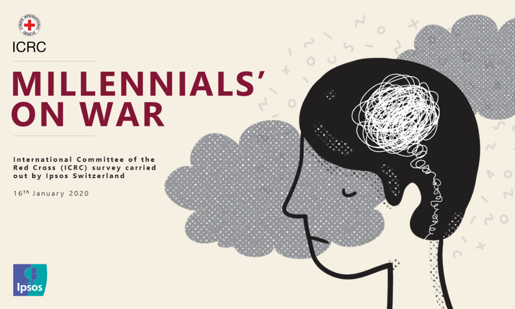 Millennials on war Ipsos ICRC