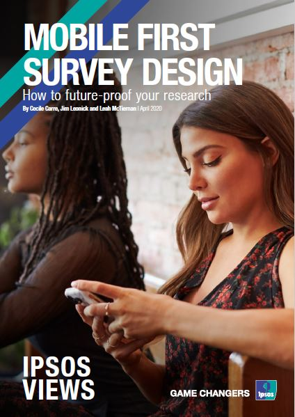 Mobile first survey design. How to future-proof your research | Ipsos