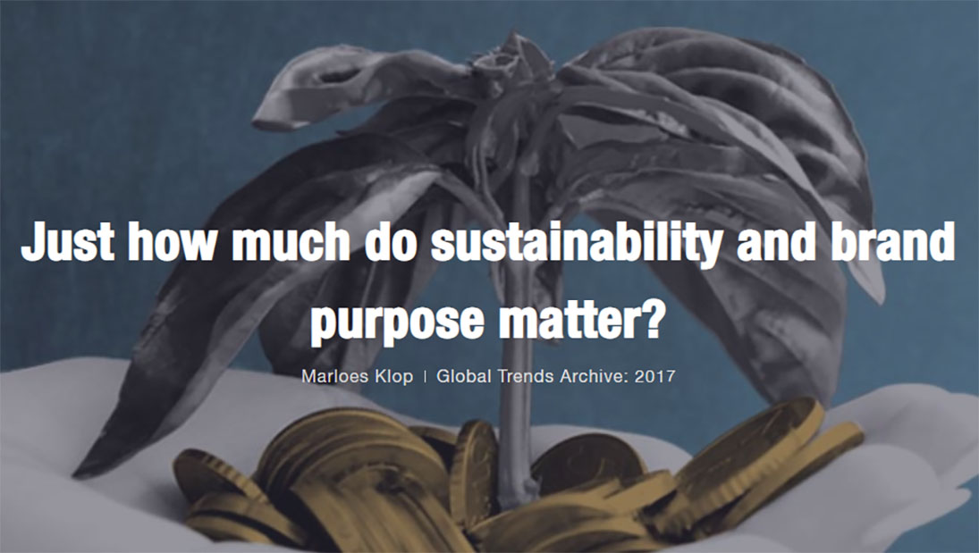 How much does sustainability and brand purpose matter? | Ipsos MORI