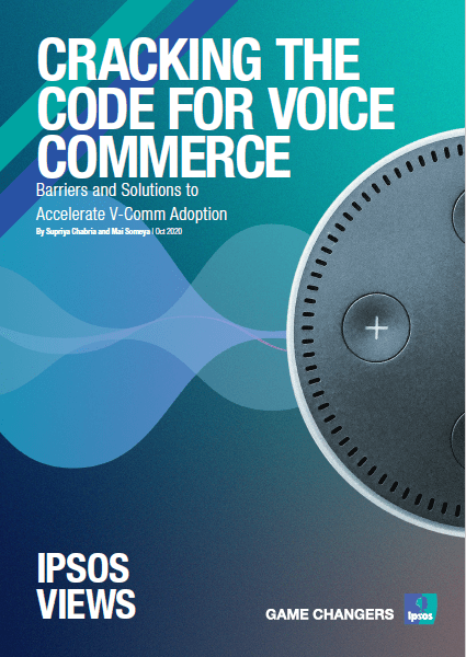 Cracking the code for voice commerce | Ipsos