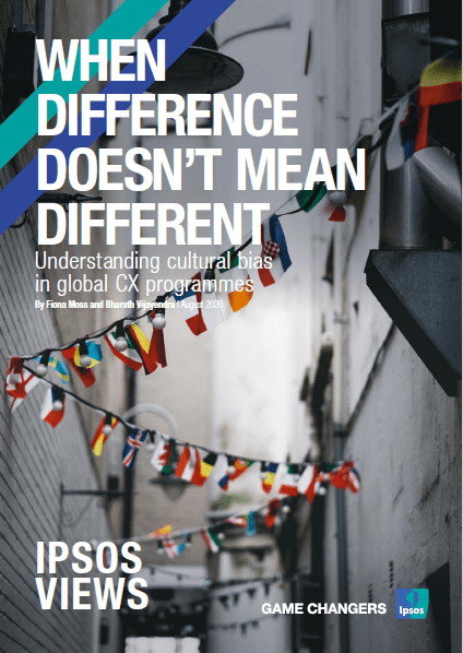 When Difference doesn't mean Different: Understanding cultural in global CX programmes | Ipsosbias