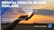 Mental Health in New Zealand