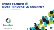 Ipsos is 1st The Most Innovative Market Research Company