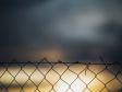 Blurred photo of fence