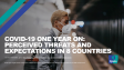 ne year on, most don't see an end to the pandemic before the end of 2021 – if at allTracking survey data shows how threats associated with the pandemic and expectations in eight countries have changed over the past year