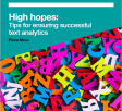 High Hopes - Tips for ensuring successful text analytics white paper