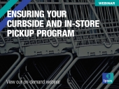 Ensuring Your Curbside and In-Store Pickup program