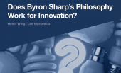 Ipsos Views : Does Byron Sharp's Philosophy Work For Innovation ?