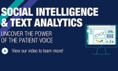 Social intelligence and text analytics | healthcare | patient voice | Ipsos | Synthesio