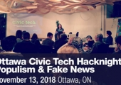 Ottawa Civic Tech Hacknight: Populism & Fake News | Ipsos