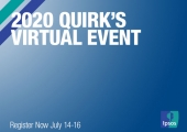 2020 Quirk's Virtual Event