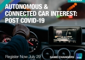 [WEBINAR] Autonomous & Connected Car Interest: Post COVID-19