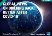 [WEBINAR] Global Views on Building Back Better After COVID-19