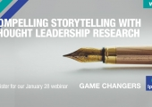 [WEBINAR] Compelling Storytelling With Thought Leadership Research
